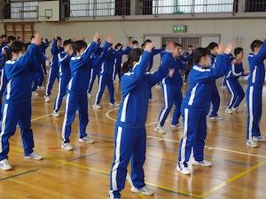 岩手県 花巻市立矢沢中学校