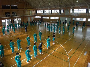 宮城県 登米市立米山中学校