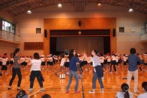 神奈川県 川崎市立井田小学校 PTA主催ダンスレッスン