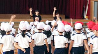 兵庫県 西宮市立高木小学校 1学年PTA向け体験会の合同開催 平成24年10月9日